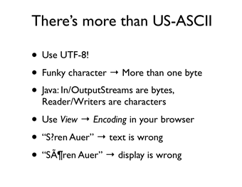 There's more than US-ASCII (presentation slide)